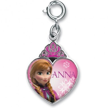 Anna Crown Heart Charm Frozen