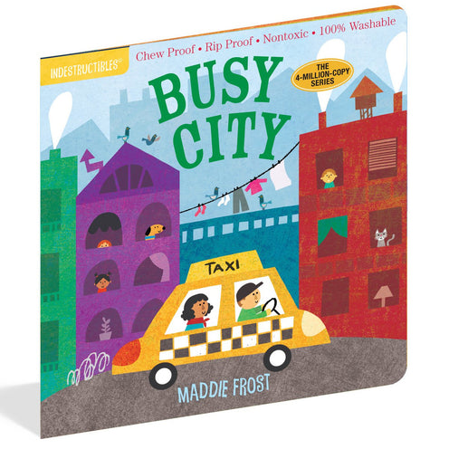 Indestructibles Baby Book - Busy City