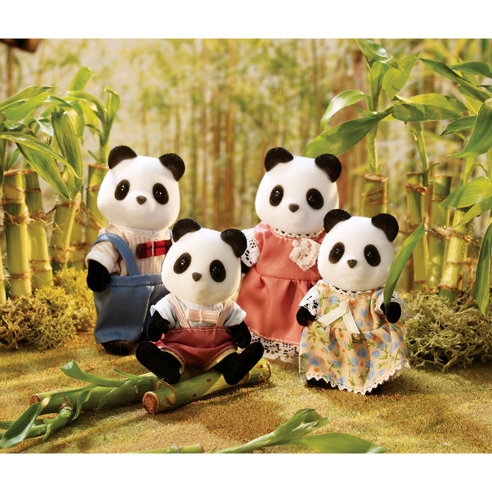 Calico Critters Panda Family