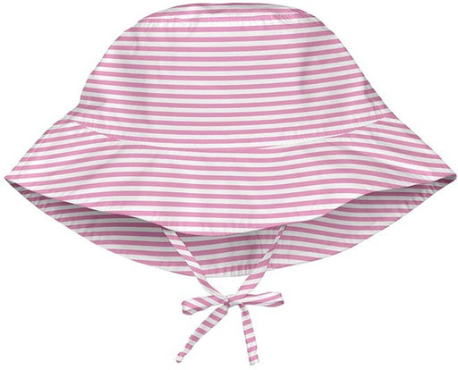 I Play Bucket Sun Hat Light Pink Stripe