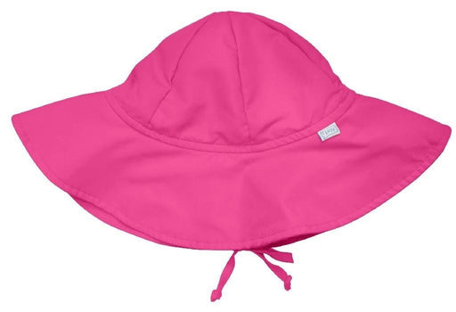I Play Solid Brim Protection Hat - Hot Pink