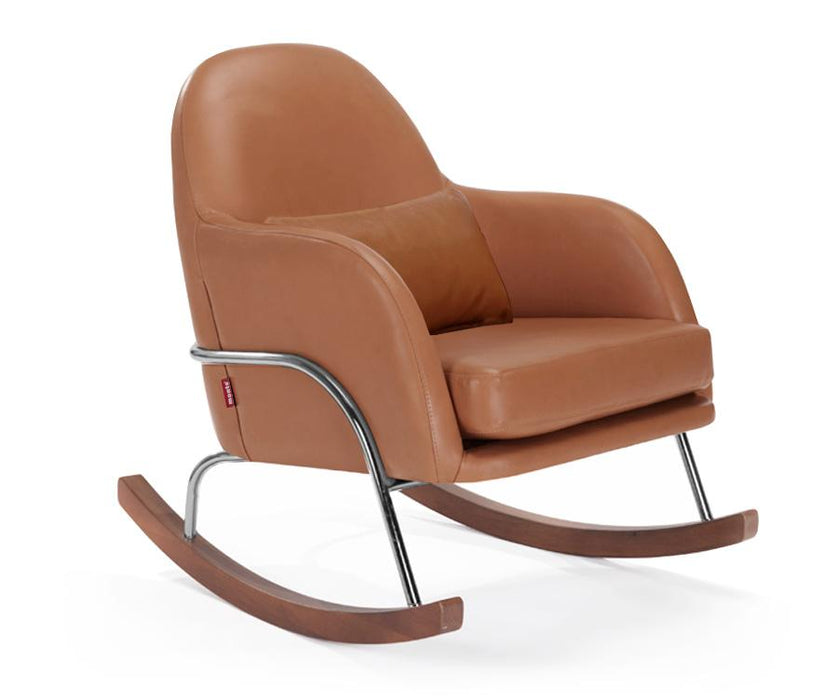 Jackie Rocker - Enviroleather Tan / Chrome