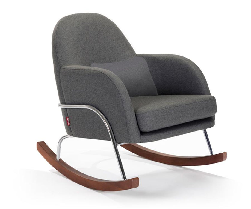 Jackie Rocker - Wool Dark Grey / Chrome