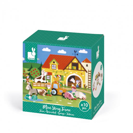 Janod Mini Story Set - Farm