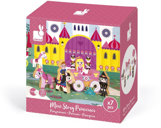 Janod Mini Story Set - Princesses