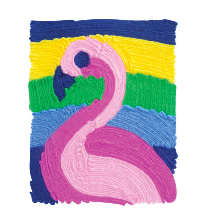 Kahootz Y'Art Flamingo Yarn Art