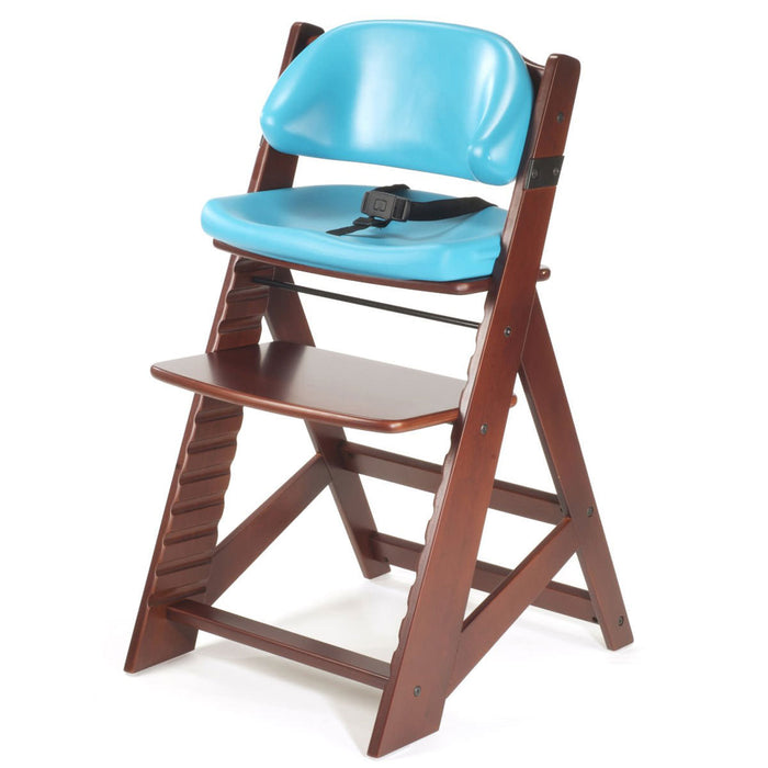 Keekaroo Kids' Chair - Mahogany/Aqua