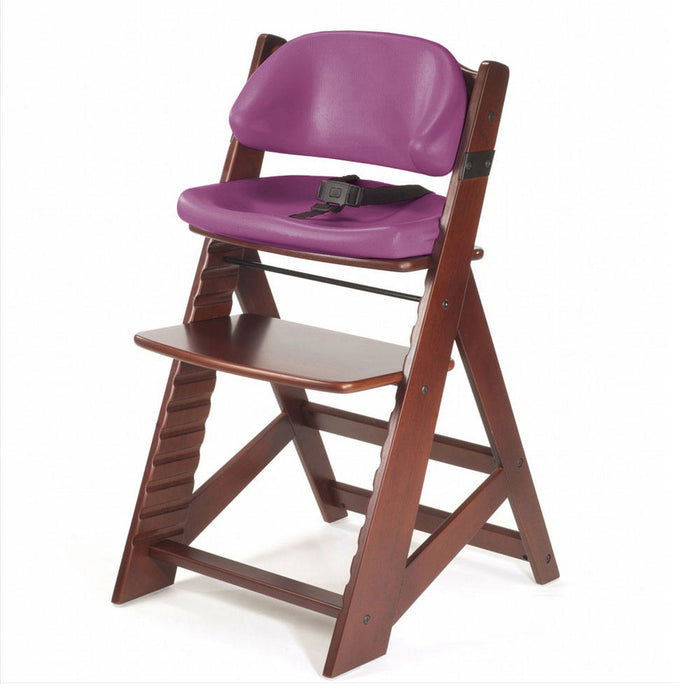 Keekaroo Kids' Chair - Mahogany/Raspberry