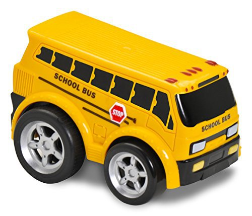 Kid Galaxy Soft Pull-Back School Bus