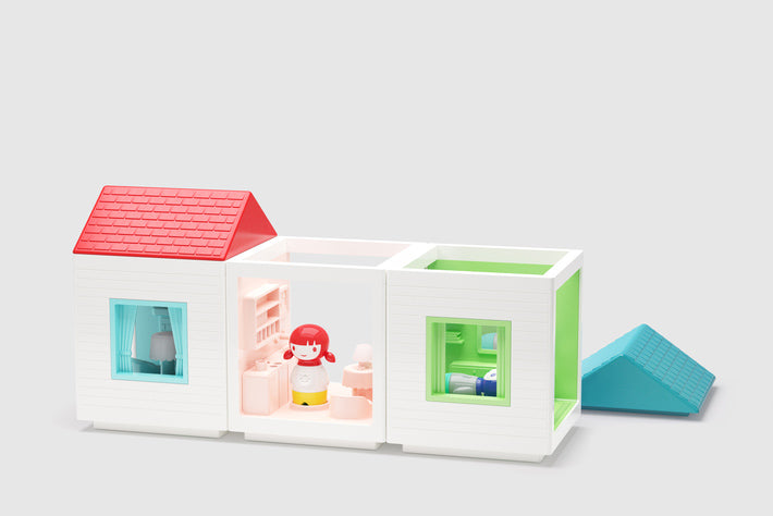 Kid O Myland Playhouse - All 3 House Sets Together