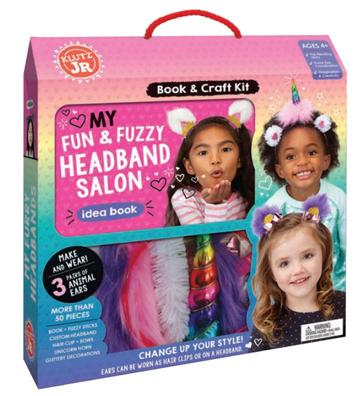 Klutz Jr - My Fun and Fuzzy Headband Salon