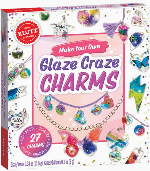 Klutz Make Your Own Glaze Charms