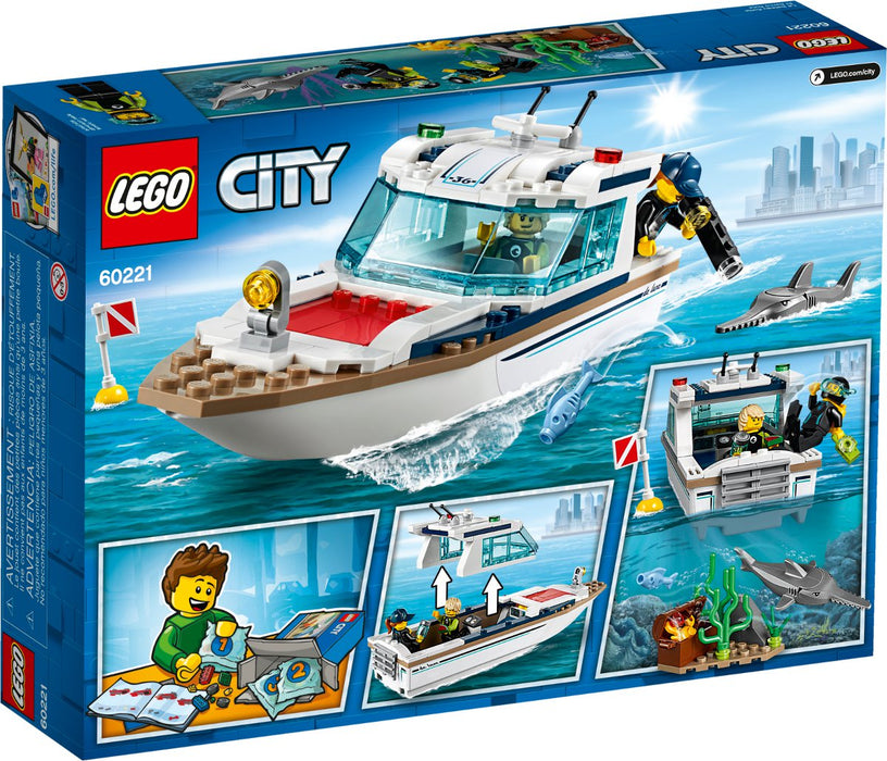 Lego City Diving Yacht