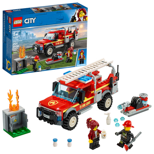 Lego City - Fire Chief Response Truck