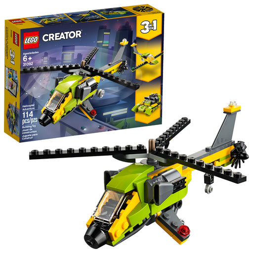 Lego Creator 3-in-1 Helicopter Adventure