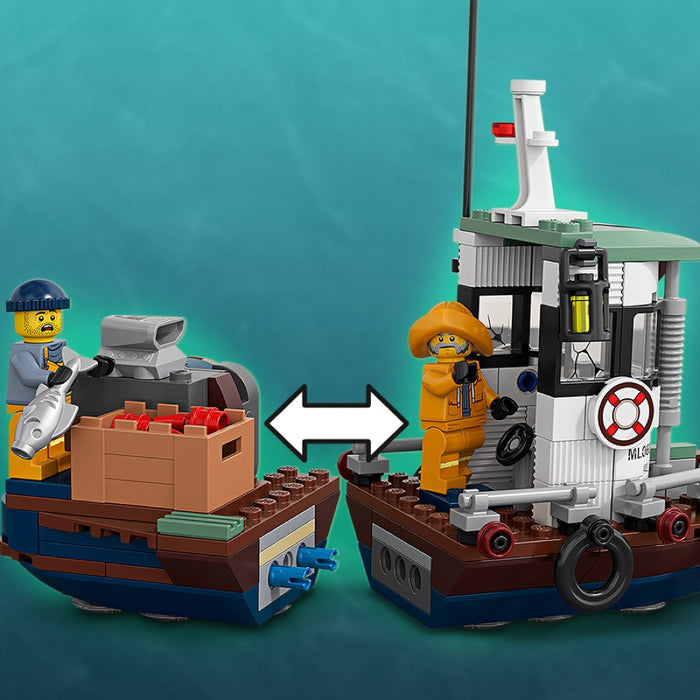 Lego Hidden Side - Wrecked Shrimp Boat