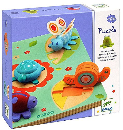 Djeco 3D Relief Wooden Puzzle - Lilo