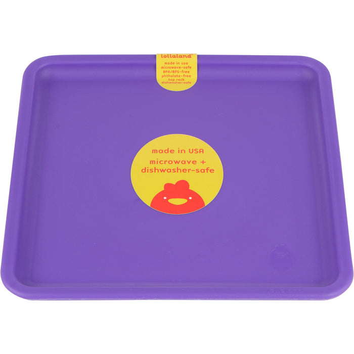 Lollaland Mealtime Plate - Proud Purple