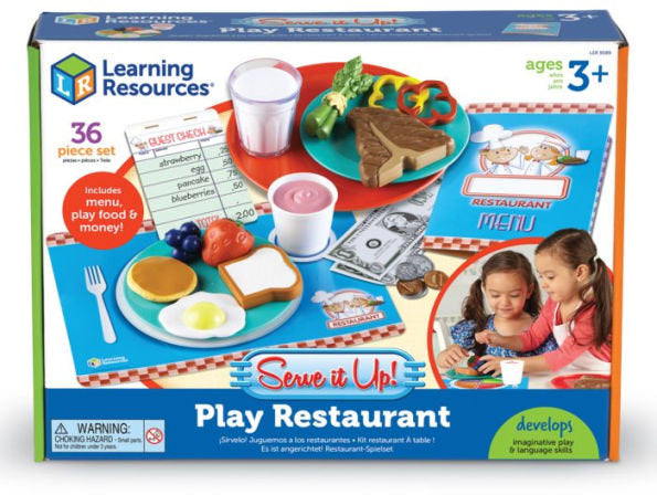 Learning Resources Serve it Up! Play Restaraunt