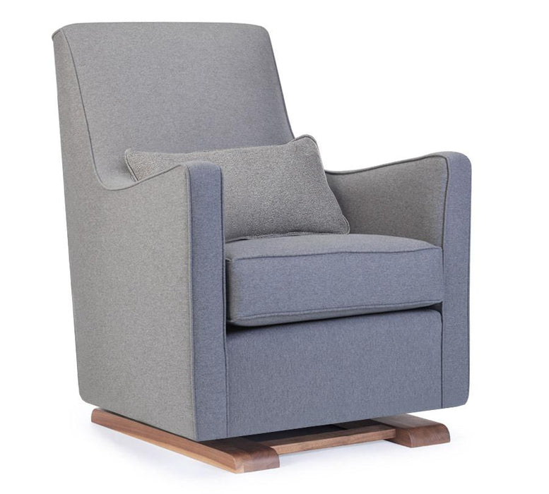 Luca Glider - Walnut / Heather Grey