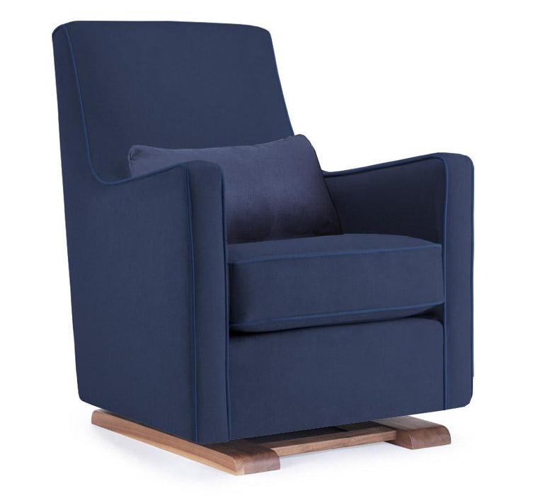 Luca Glider - Walnut / Navy Blue