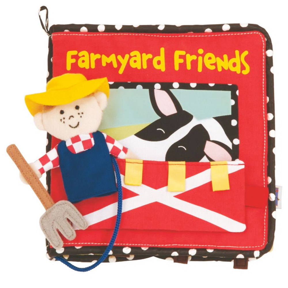 Manhattan Toy Farmyard Friends Book