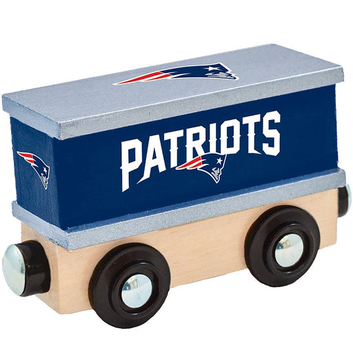 New England Patriots Box Car Train