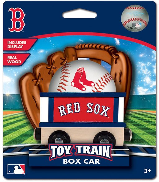 Boston Red Sox Box Car Train