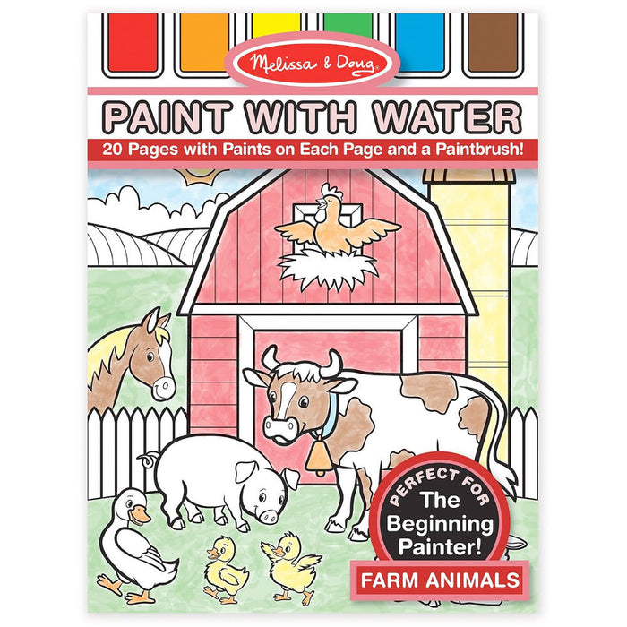 Melissa & Doug Farm Paint with Water Book