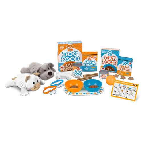 Melissa + Doug Feed + Play Pet Treats Play Set
