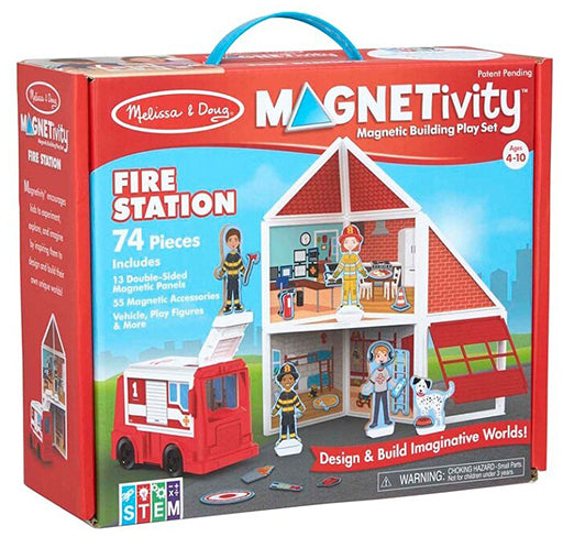 Melissa and Doug - Magnetivity Fire Station