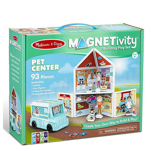 Melissa and Doug - Magnetivity Pet Center