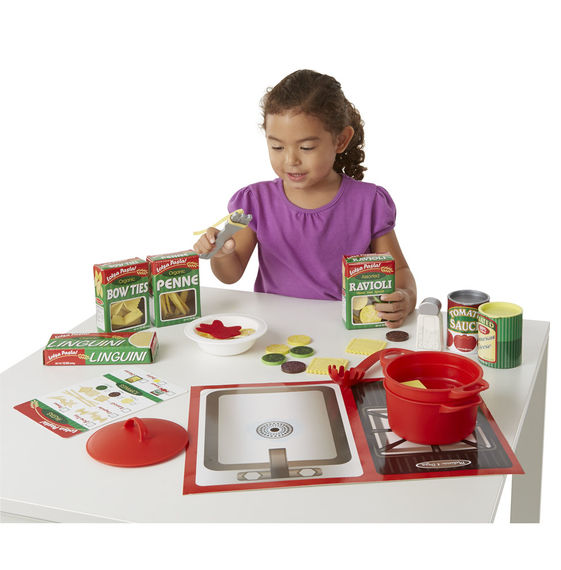 Melissa & Doug Prepare + Serve Pasta Set