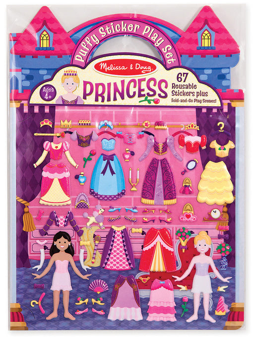 Melissa and Doug Puffy Sticker Play Set - Princess