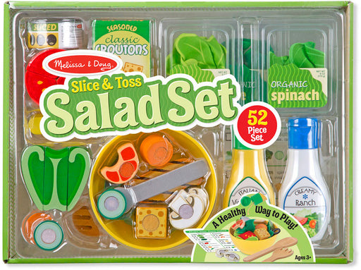 Melissa + Doug Slice + Toss Salad Set