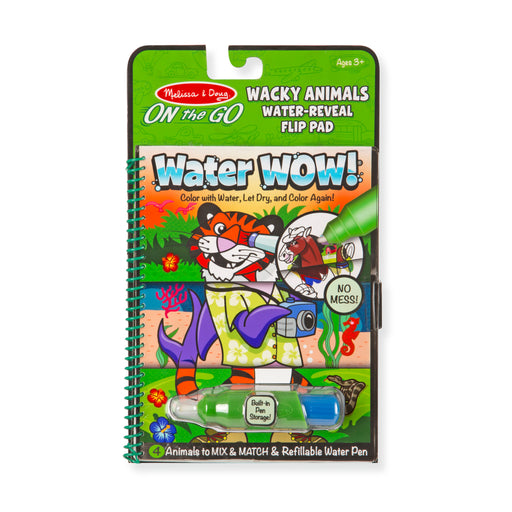 Melissa and Doug Water Wow! Wacky Animals