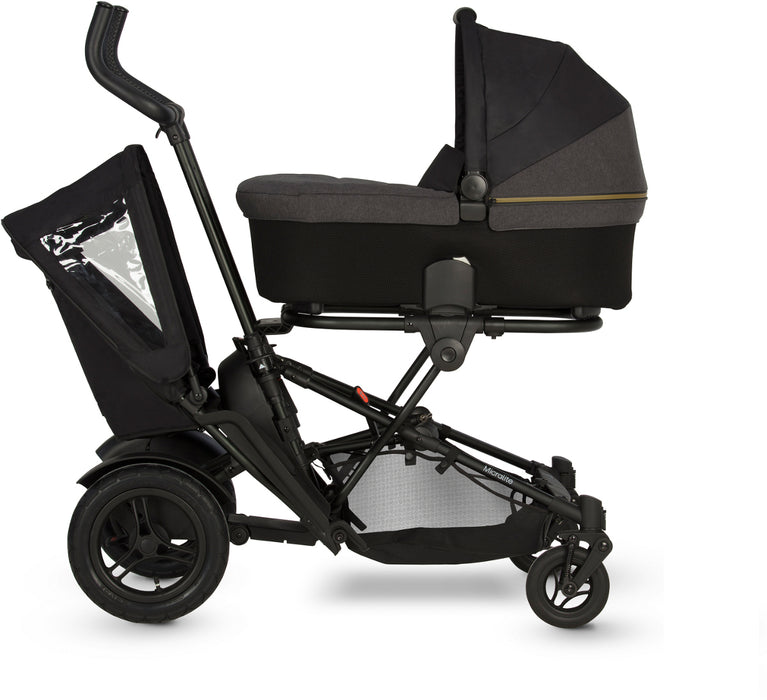 Micralite TwoFold Stroller Second Seat on Carbon