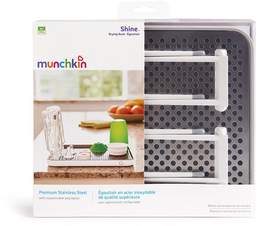 Munchkin Shine Stainless Steel Bottle Drying Rack