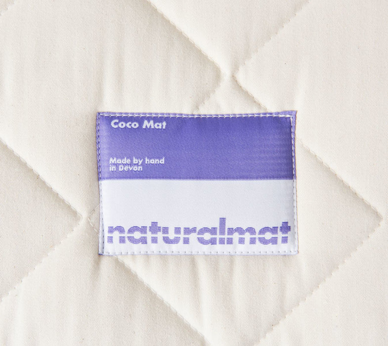 Naturalmat - Quilted Coco Mat Twin Mattress