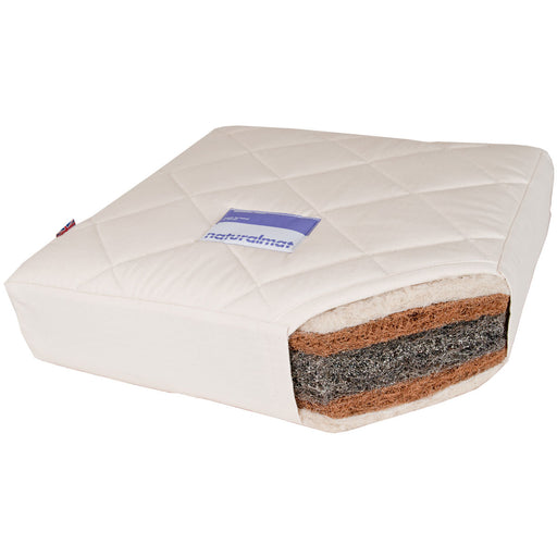 Naturalmat - Quilted Mohair Mat Crib Mattress