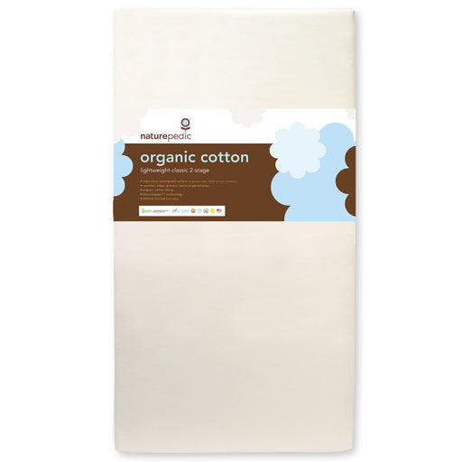 Naturpedic Lightweight Organic Cotton 2-Stage