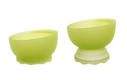 Olababy Steambowl Silicone Steamer + Feeding Bowl