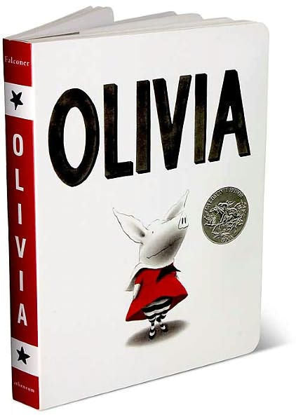 Olivia Board Book by Ian Falconer
