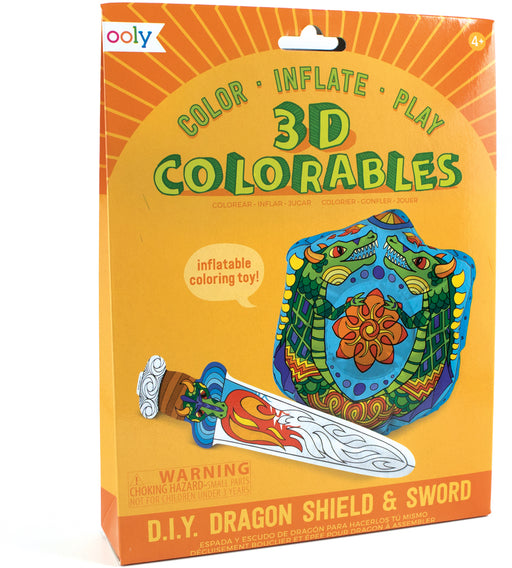 Ooly 3D Colorables Dragon Shield + Sword