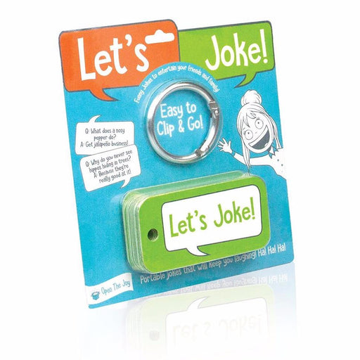 Open the Joy - Let's Joke Cards