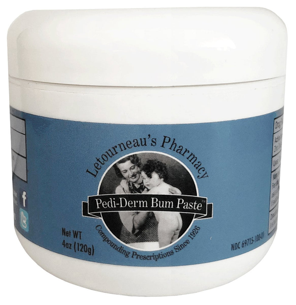Letourneau's Pharmacy Pedi-Derm Bum Paste
