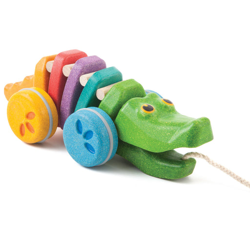 PlanToys Planwood Rainbow Dancing Alligator