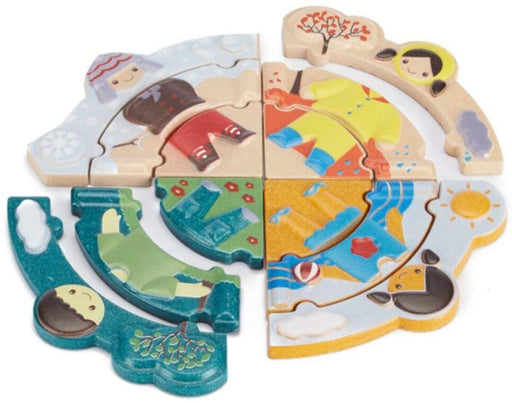 Plantoys Weather Dress Up Puzzle