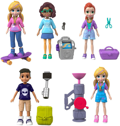 Polly Pocket Active Doll Figure - 1 Piece Asst