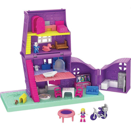 Mattel Polly Pocket Pollyville House Playset